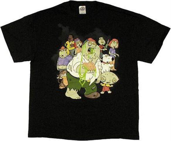 Family Guy Zombies T-Shirt