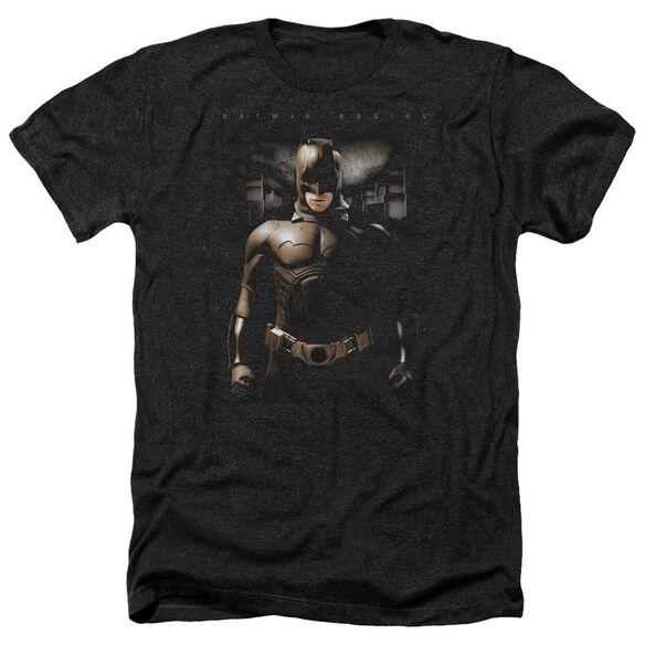 Batman Begins Gotham Bats Adult Heather