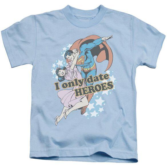 Dc Fickle Short Sleeve Juvenile Light Blue Md T-Shirt