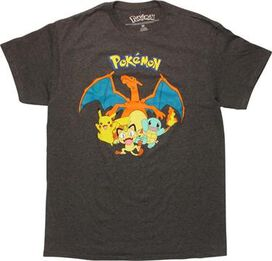 Pokemon Charizard Over Group T-Shirt