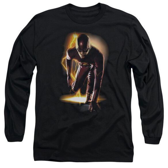 The Flash Ready Long Sleeve Adult T-Shirt