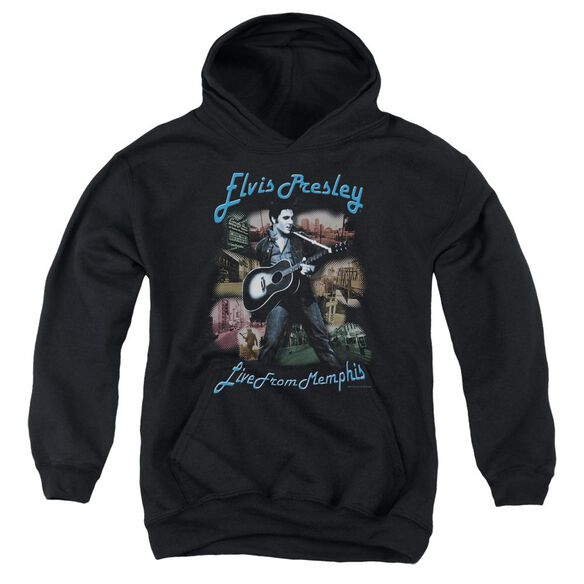 Elvis Presley Memphis Youth Pull Over Hoodie