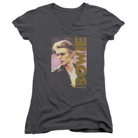 David Bowie Smokin Junior V Neck T-Shirt