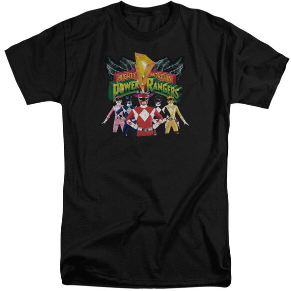 Power Rangers Rangers Unite Short Sleeve Adult Tall T-Shirt