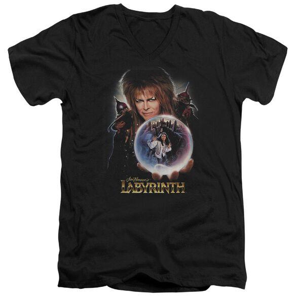 Labyrinth I Have A Gift Short Sleeve Adult V Neck T-Shirt