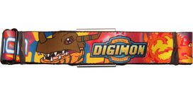 Digimon Greymon Flame Seatbelt Belt