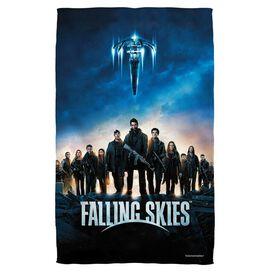 Falling Skies Poster Bath Towel