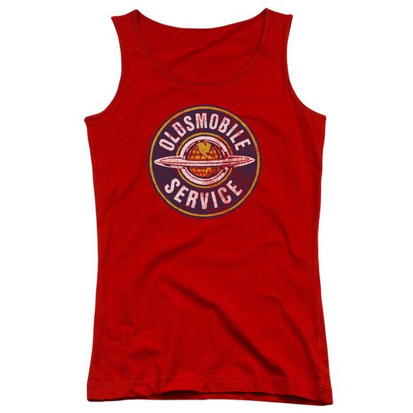 Oldsmobile Vintage Service Juniors Tank Top