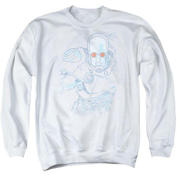 Batman Snowblind Freeze Adult Crewneck Sweatshirt
