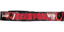 Deadpool Wanted Seatbelt Mesh Belt