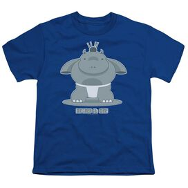 BRING IT ON - YOUTH 18/1 - ROYAL BLUE T-Shirt