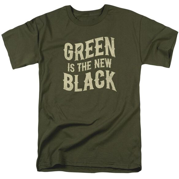 The New Black Short Sleeve Adult Military Green T-Shirt