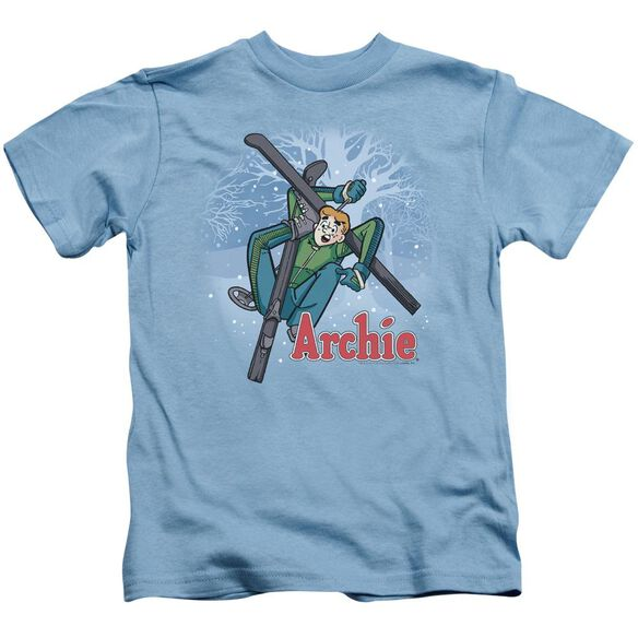 Archie Comics Bunny Hill Short Sleeve Juvenile Carolina Blue Md T-Shirt
