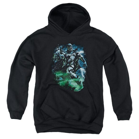Green Lantern Lantern Batman Youth Pull Over Hoodie