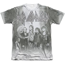 Def Leppard The Band Adult Poly Cotton Short Sleeve Tee T-Shirt