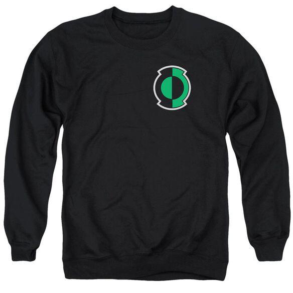 Green Lantern Kyle Logo Adult Crewneck Sweatshirt