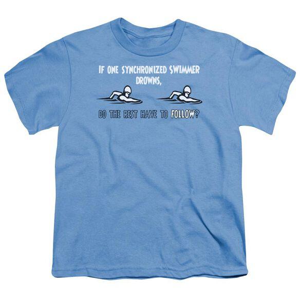Synchronized Swimmers Short Sleeve Youth Carolina T-Shirt