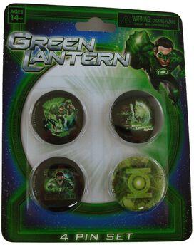 Green Lantern Movie Button Set