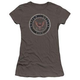 Navy Rough Emblem Premium Bella Junior Sheer Jersey