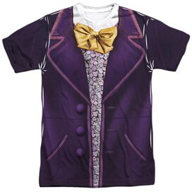 Willy Wonka And The Chocolate Factory Wonka Costume Short Sleeve Adult Poly Crew T-Shirt