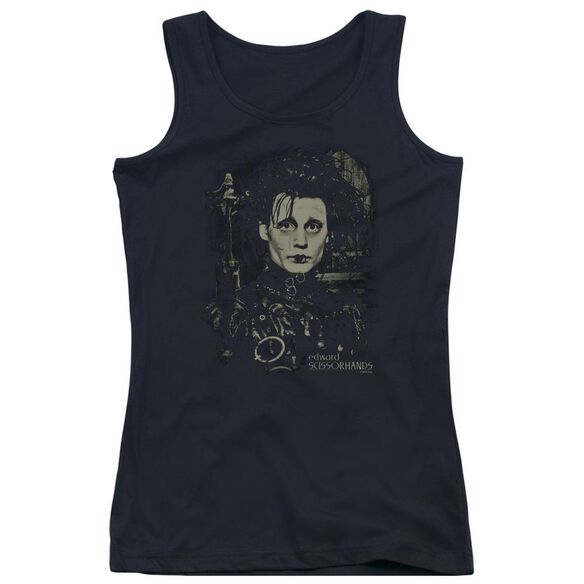 Edward Scissorhands Edward Juniors Tank Top