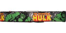 Incredible Hulk Pose Comic Wrap Seatbelt Mesh Belt
