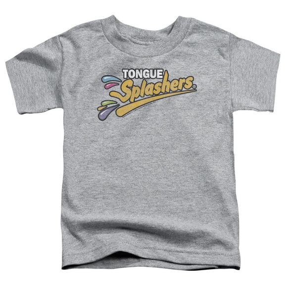 Dubble Bubble Tongue Splashers Logo Short Sleeve Toddler Tee Athletic Heather Sm T-Shirt
