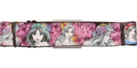 Disney Princess Floral Sketches Seatbelt Belt