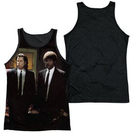Pulp Fiction Vincent And Jules Adult Poly Tank Top Black Back