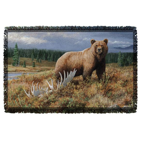 Wild Wings Autumn Splendor 2 Woven Throw
