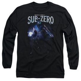 Mortal Kombat Sub Zero Long Sleeve Adult T-Shirt