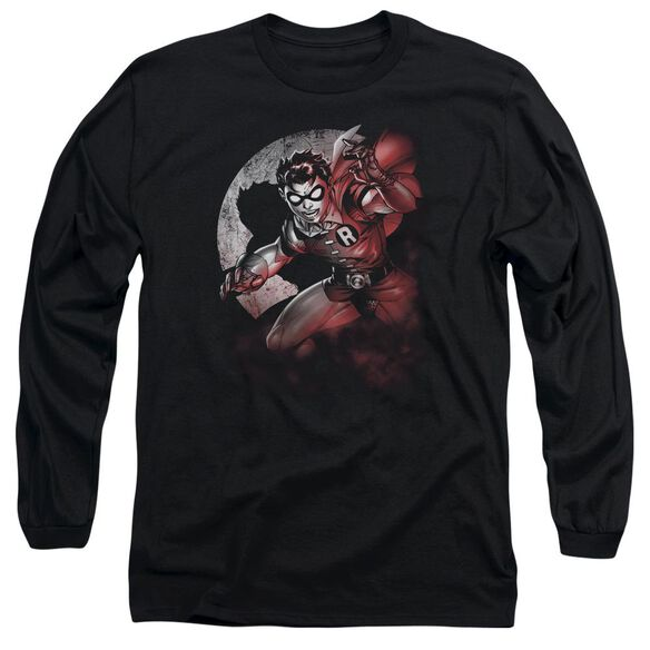 Batman Robin Spotlight Long Sleeve Adult T-Shirt