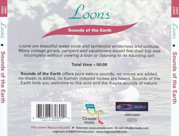 Sounds Of The Earth: Loons / Various