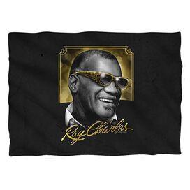 Ray Charles Golden Glasses Pillow Case