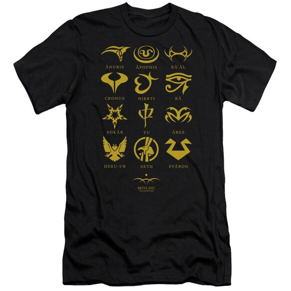 Sg1 Goa'uld Characters Short Sleeve Adult T-Shirt