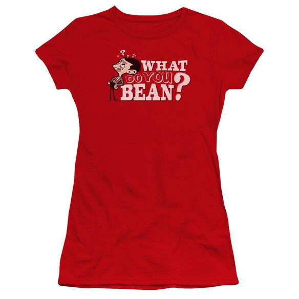 Mr Bean What You Bean Premium Bella Junior Sheer Jersey