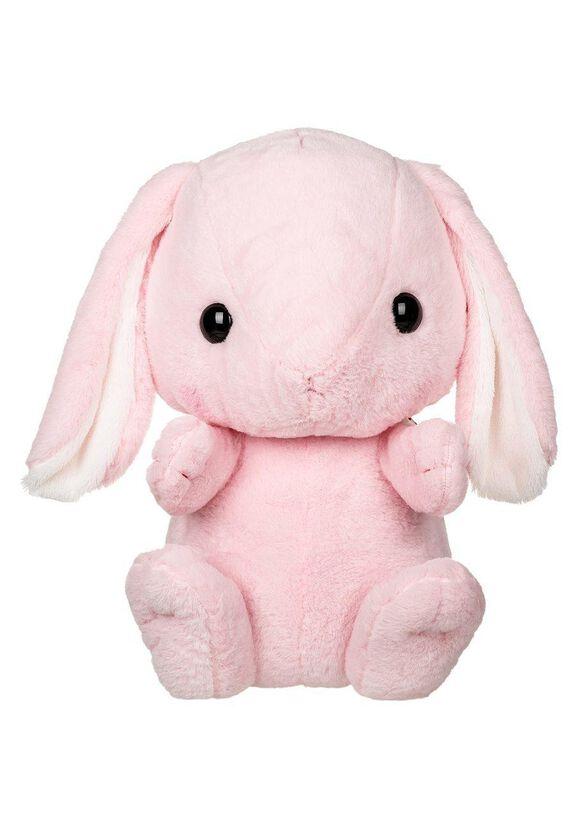 Pink Bunny Kawaii Plush