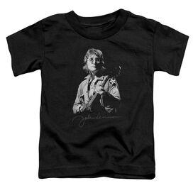 John Lennon Iconic Short Sleeve Toddler Tee Black T-Shirt