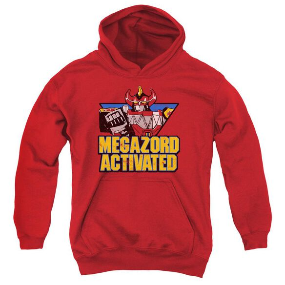 Power Rangers Megazord Activated Youth Pull Over Hoodie