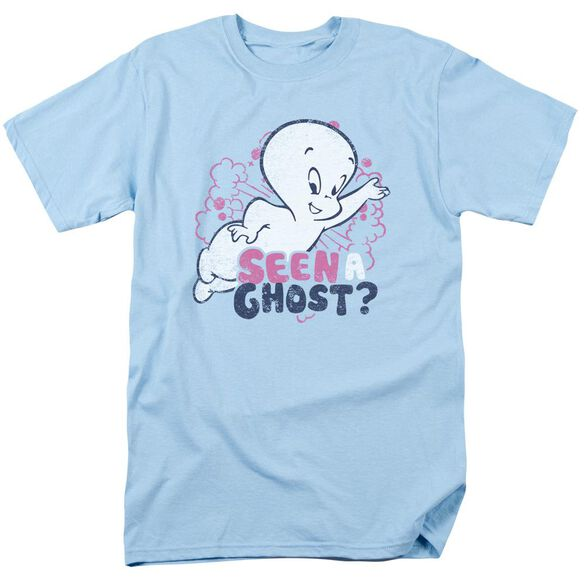 Casper Seen A Ghost Short Sleeve Adult Light T-Shirt