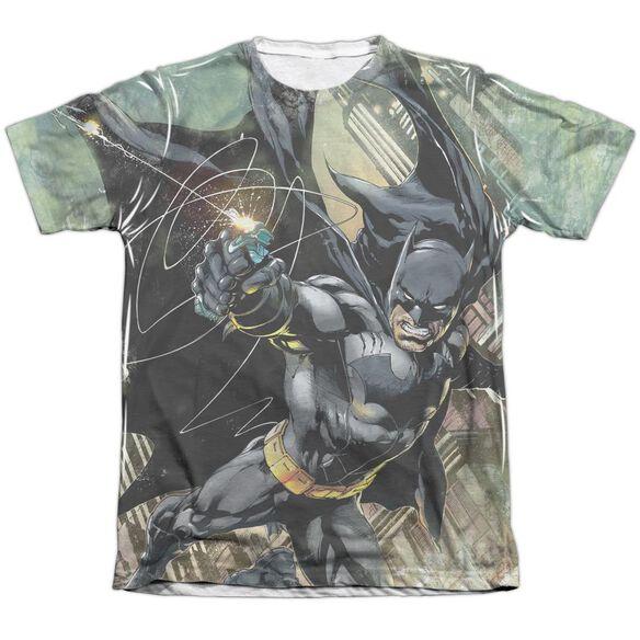 Batman Catch Adult Poly Cotton Short Sleeve Tee T-Shirt