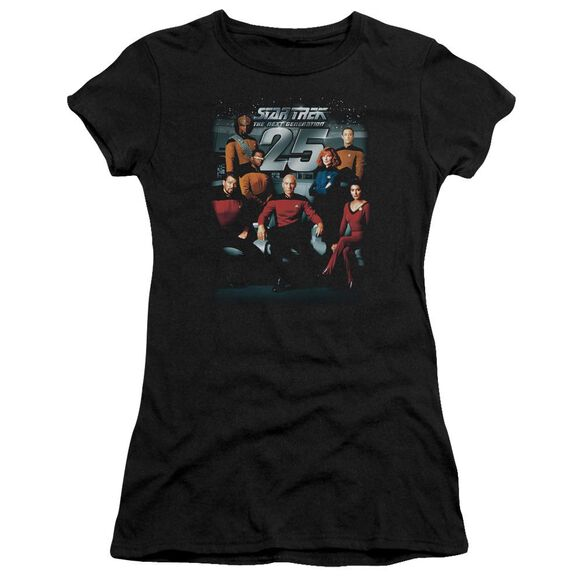 Star Trek 25 Th Anniversary Crew Premium Bella Junior Sheer Jersey