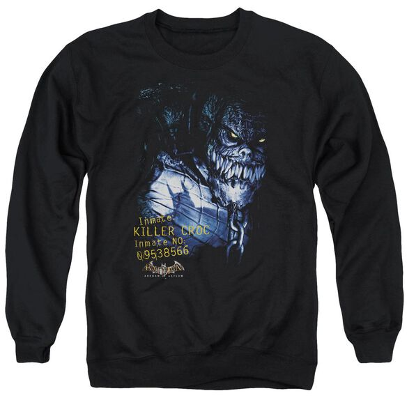 Batman Aa Arkham Killer Croc Adult Crewneck Sweatshirt
