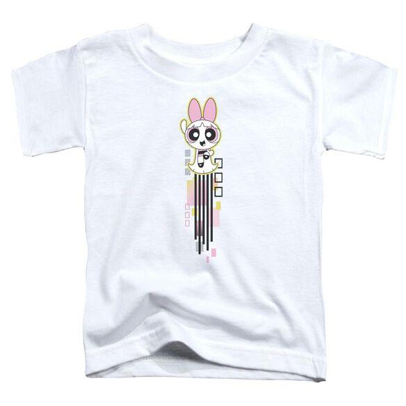 Powerpuff Girls Blossom Streak Short Sleeve Toddler Tee White T-Shirt