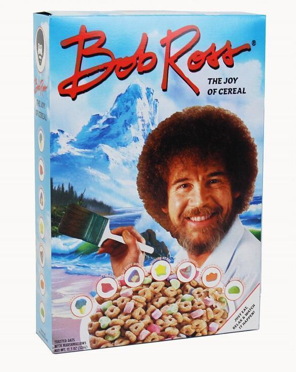 Bob Ross The Joy Of Cereal