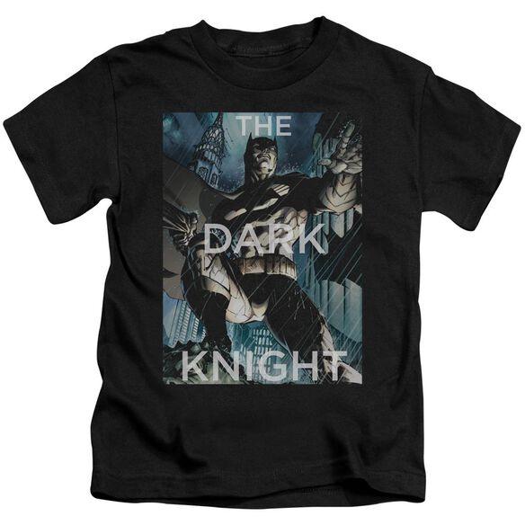 Batman Fighting The Storm Short Sleeve Juvenile T-Shirt
