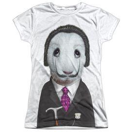 Pets Rock Surreal Short Sleeve Junior Poly Crew T-Shirt