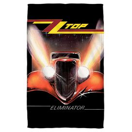 Zz Top Eliminator Cover Towel White