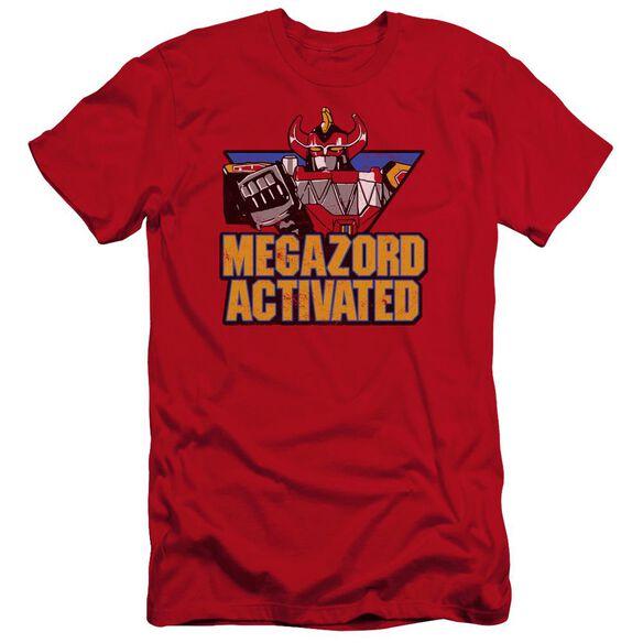 Power Rangers Megazord Activated Premuim Canvas Adult Slim Fit