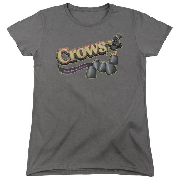 Tootise Roll Crows Short Sleeve Womens Tee T-Shirt